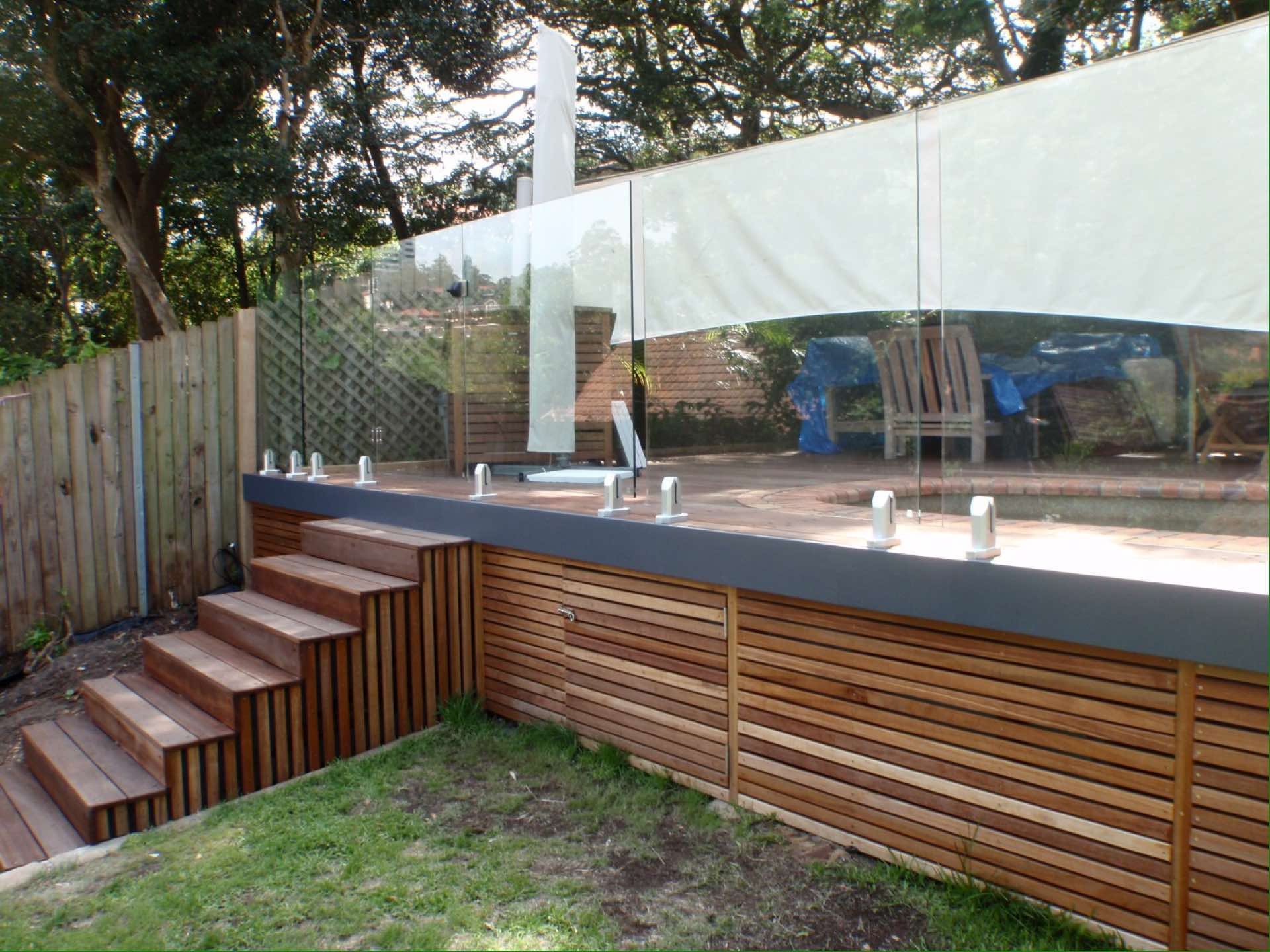 New deck around existing pool Neutral Bay, NSW