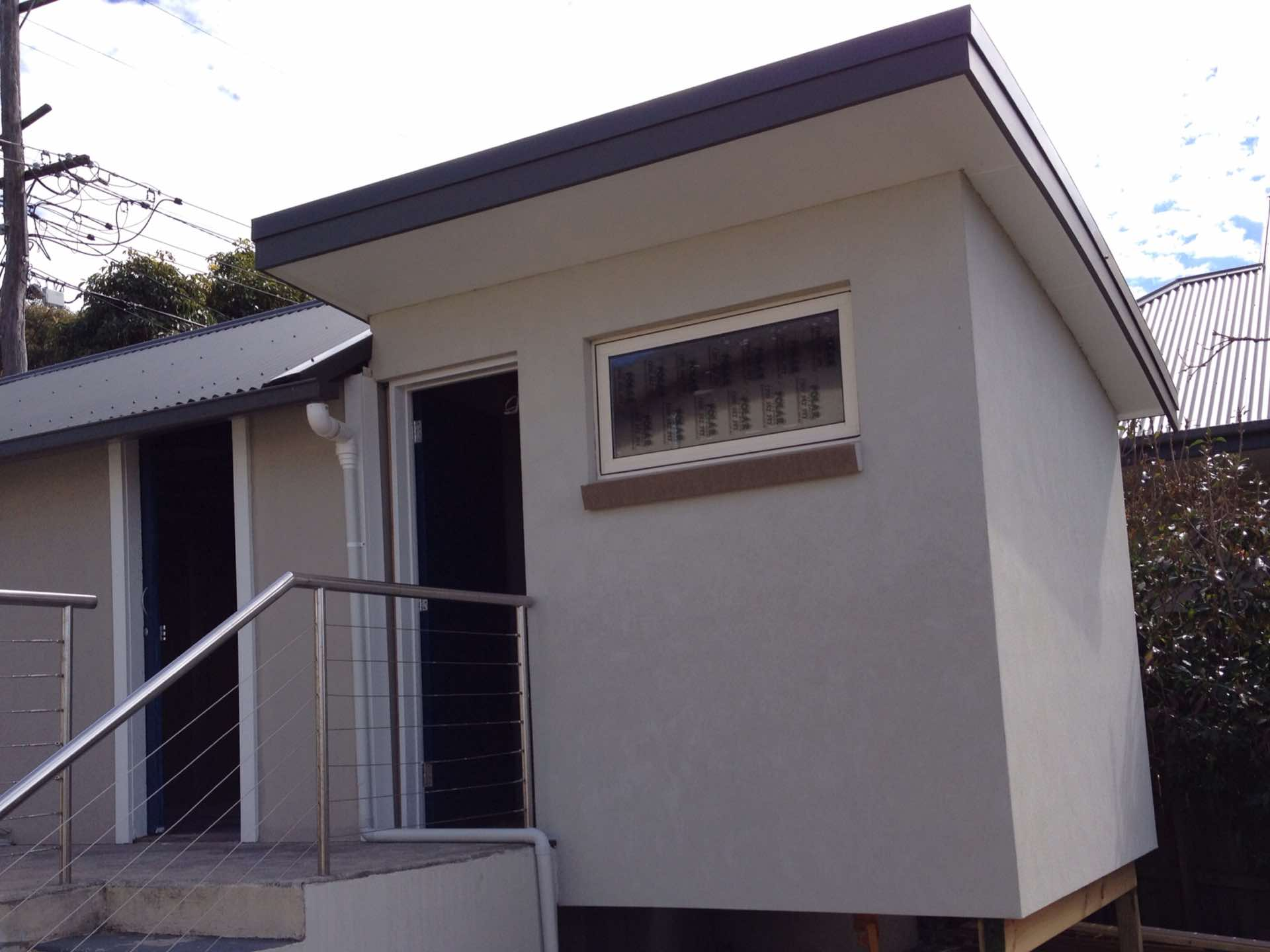 Sleep out added onto the back of the garage.  Well insulated.  Perfect for the shiftworker North Balgowlah, NSW