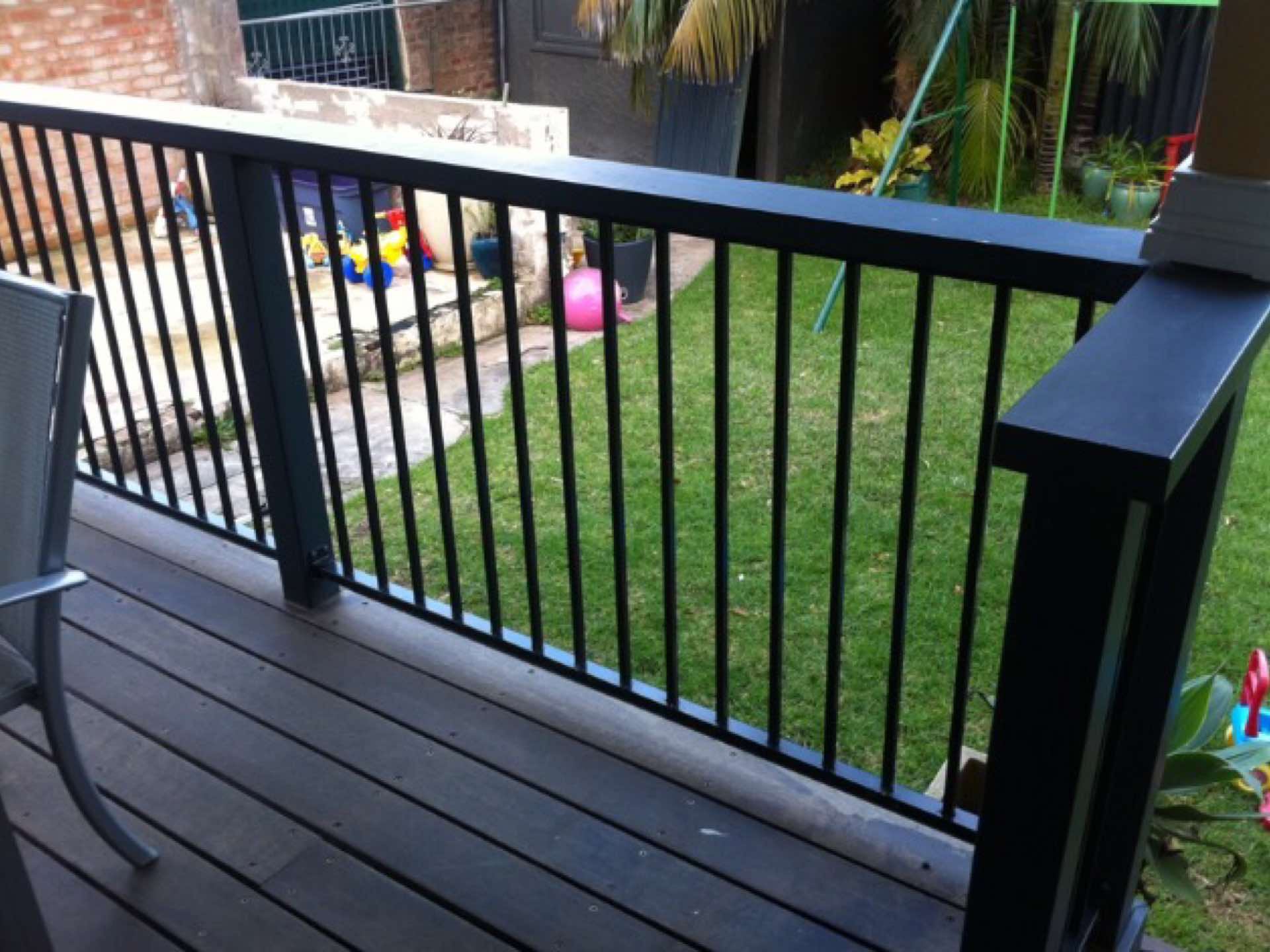 Deck handrail and balustrade North Curl Curl, NSW