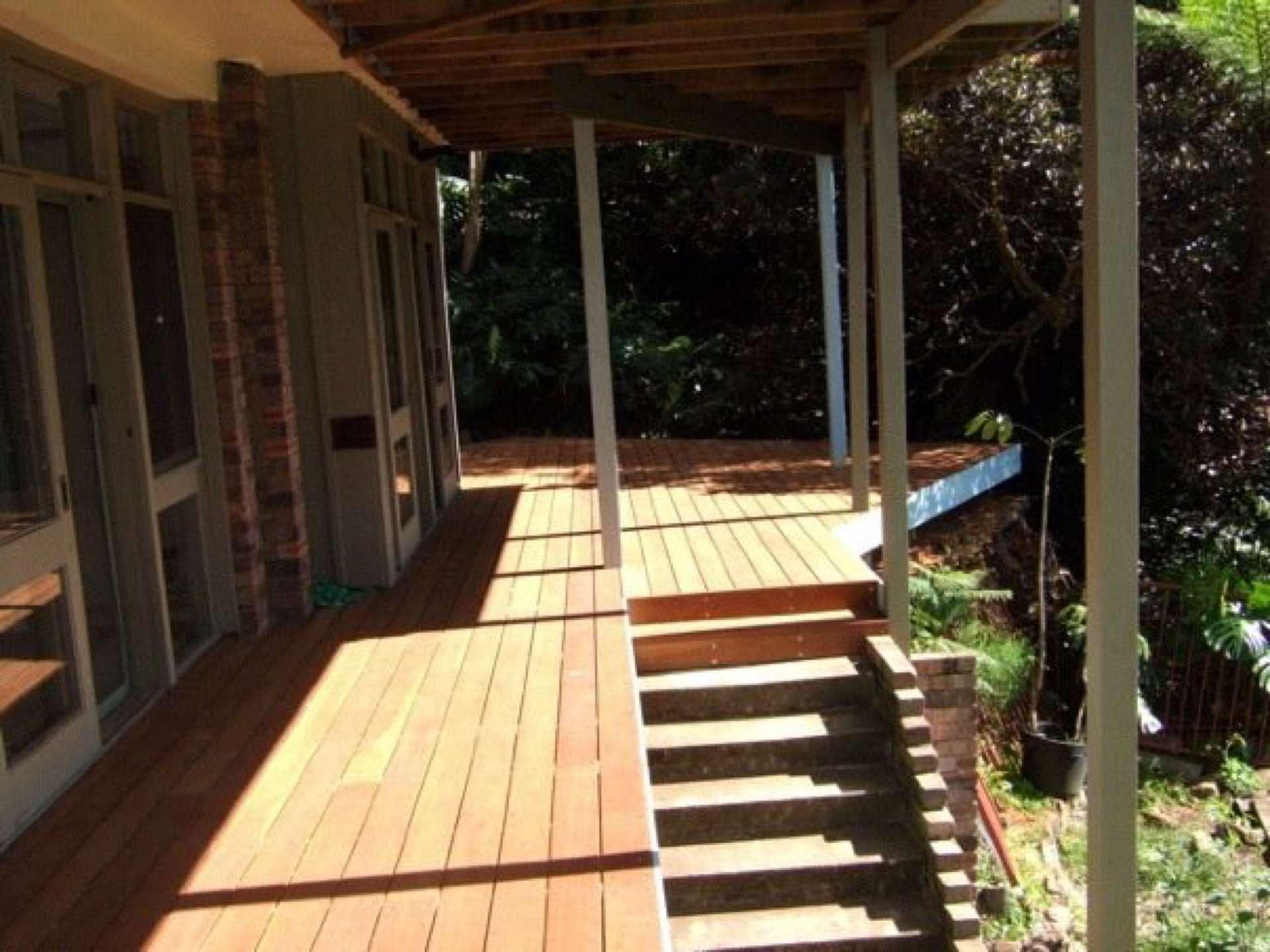 New hardwood deck Northbridge, NSW