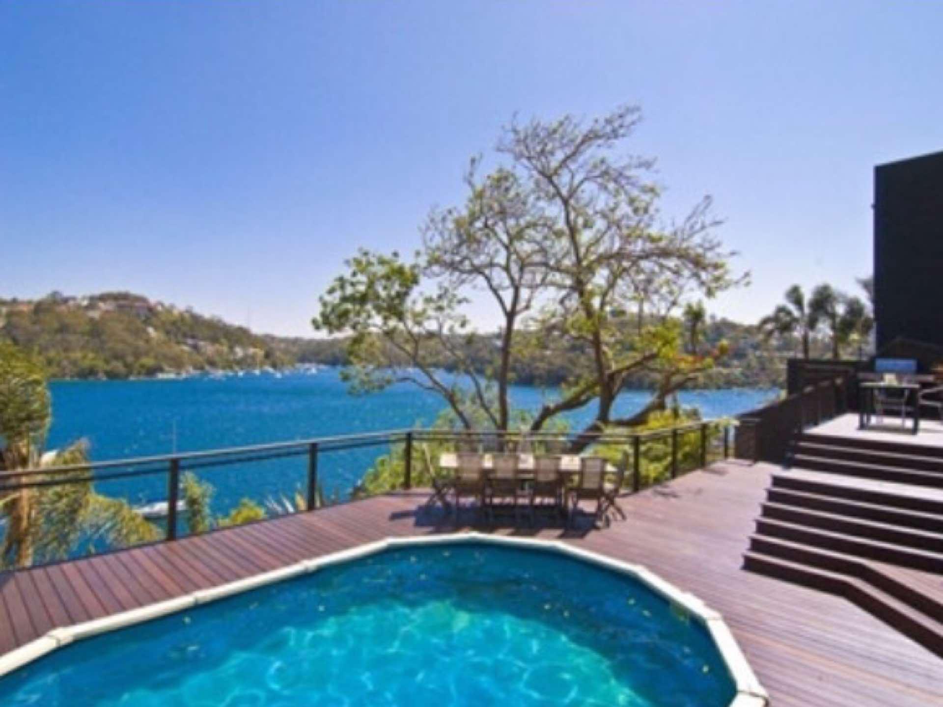 New Belian hardwood deck and stairsaround existing pool Seaforth, NSW