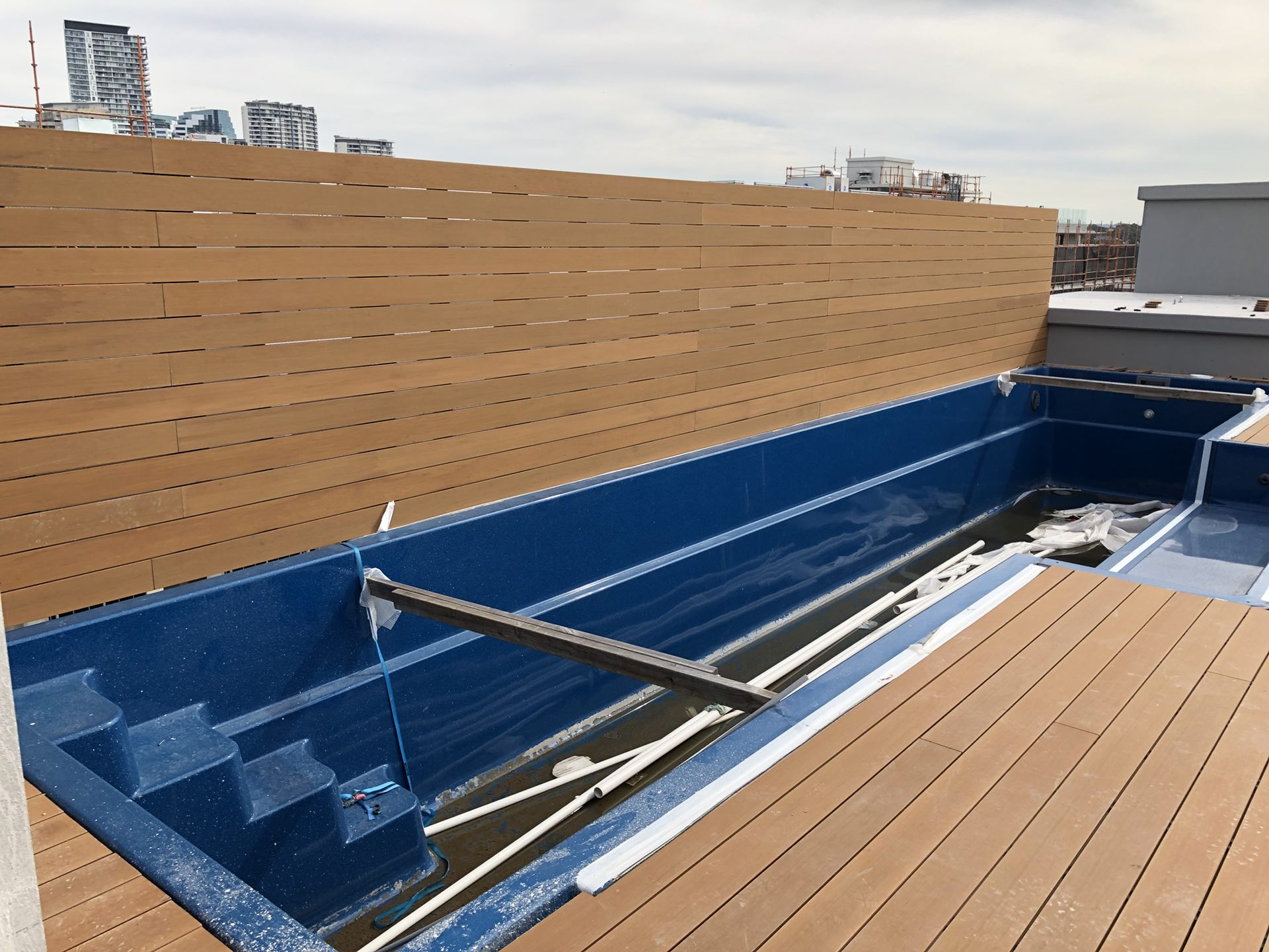 Feature screen - Rooftop pool deck  Chatswood, NSW