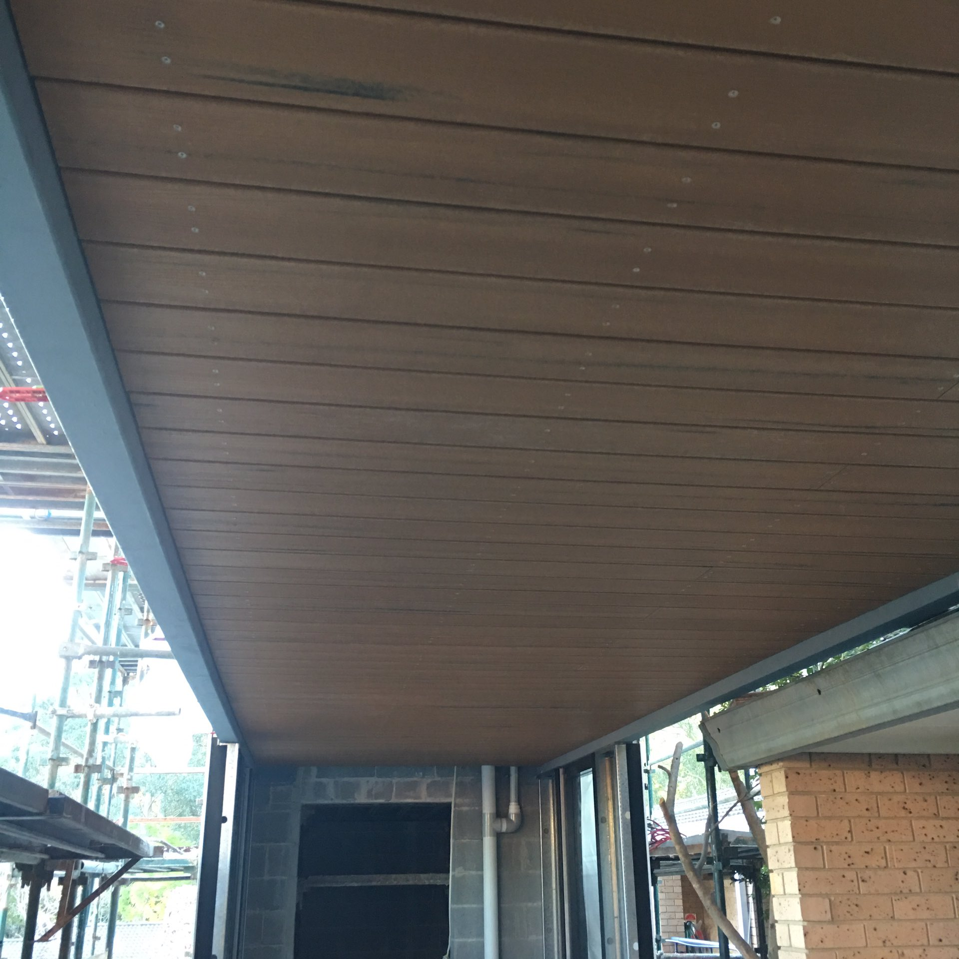 Modwood ceilings and beam infills  West Pennant Hills, NSW