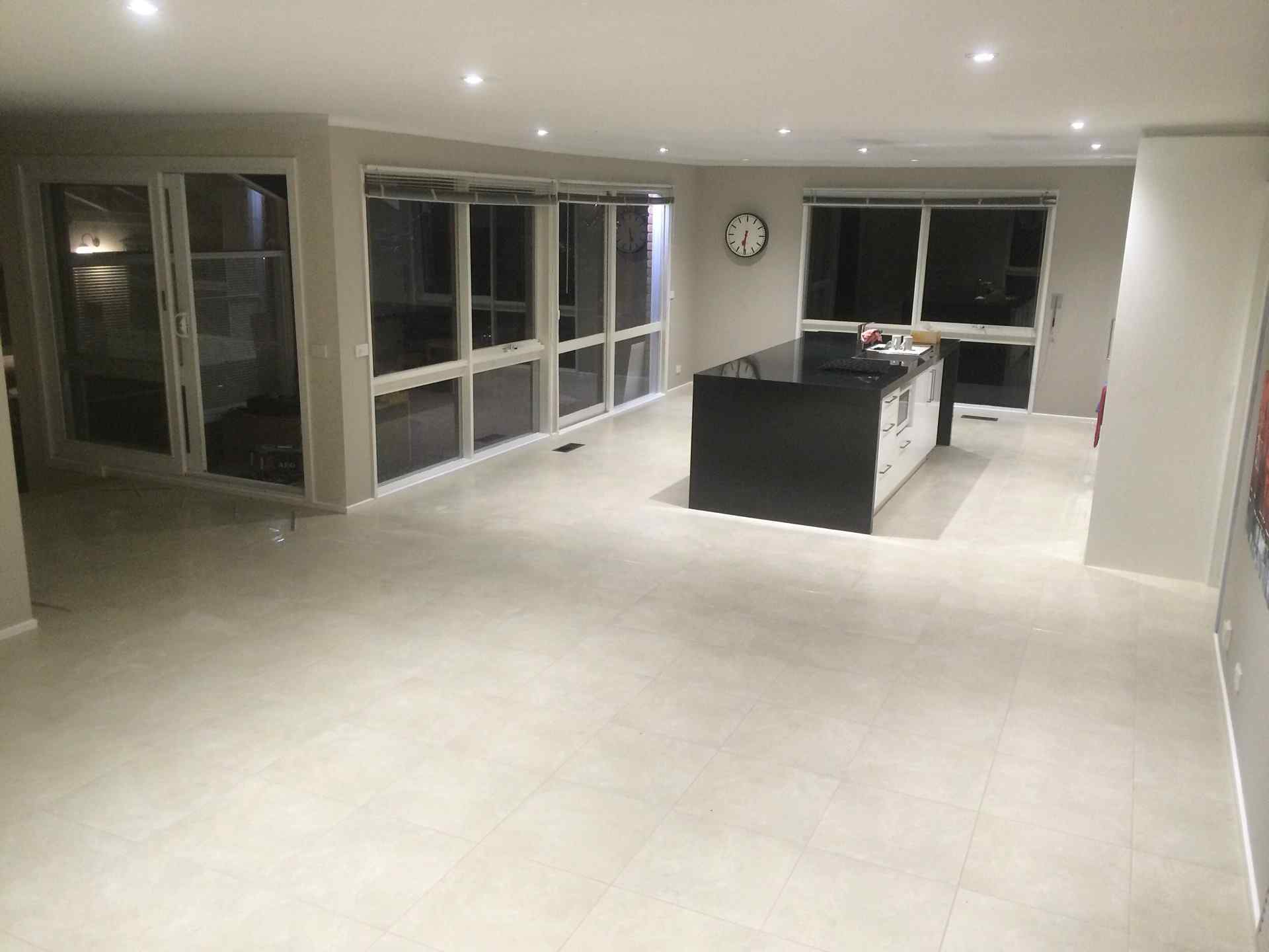 C s wall and floor tiling chris stenhouse 9 projects 450x450 ceramic tiles on a 60m2 floor rowville vic dailygadgetfo Gallery