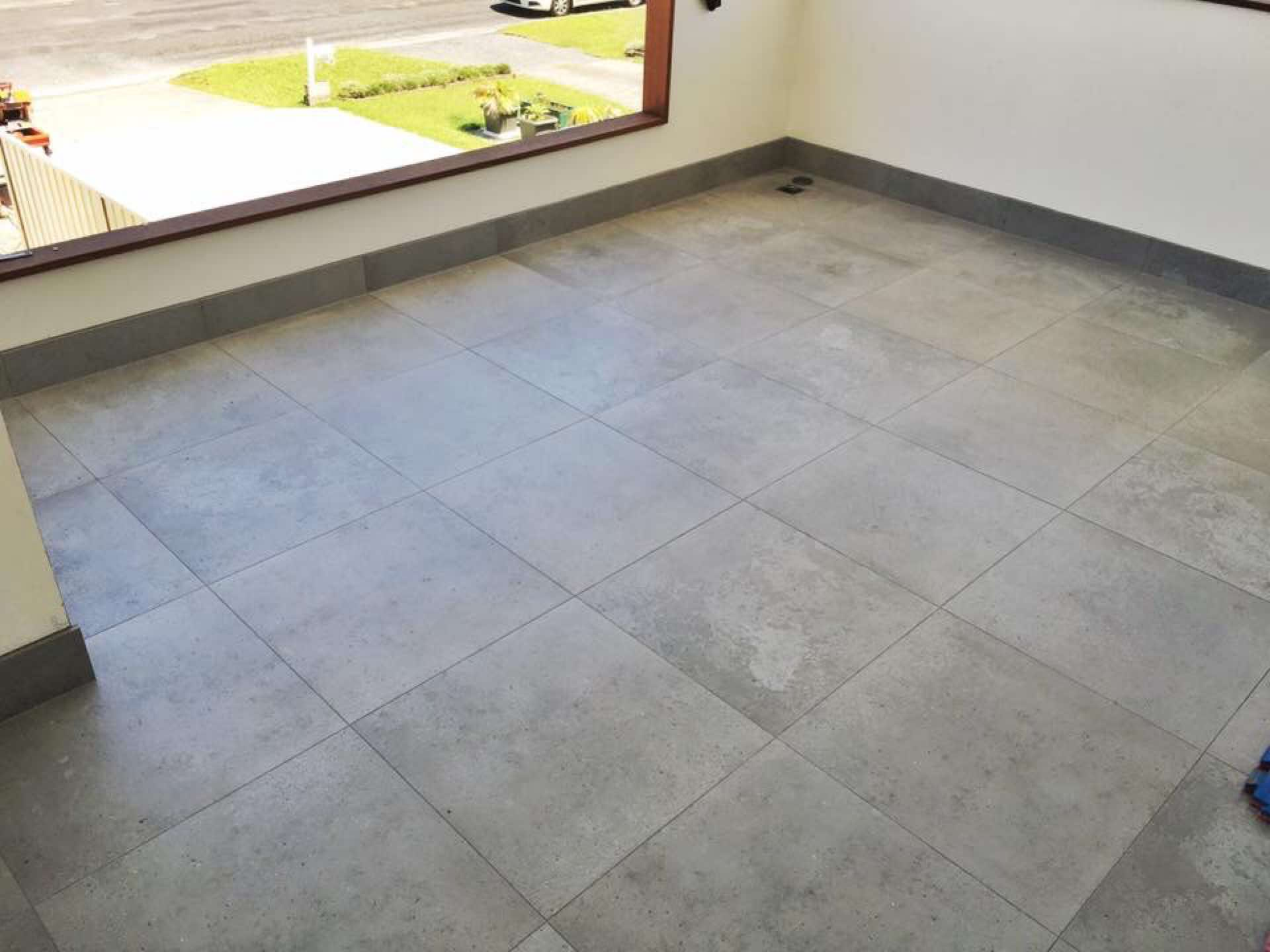 Evoke wall and floor tiling josh househam 5 projects 600x600 porcelain polished concrete look tile killarney vale nsw dailygadgetfo Gallery