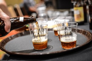 Judging beer pour