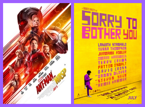 Ant-Man and the Wasp & Sorry to Bother You, 2ble Feature