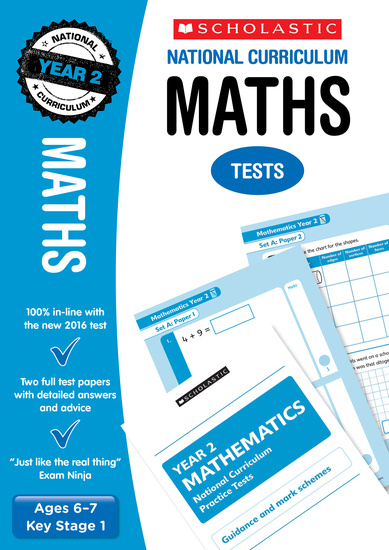 Practice SATs Tests: Maths – Year 2 (30 Pack)