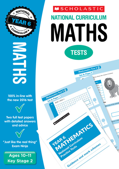 Practice SATs Tests: Maths – Year 6 (30 Pack)