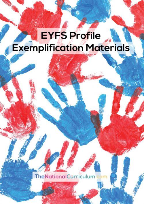 EYFS Profile – Exemplification Materials