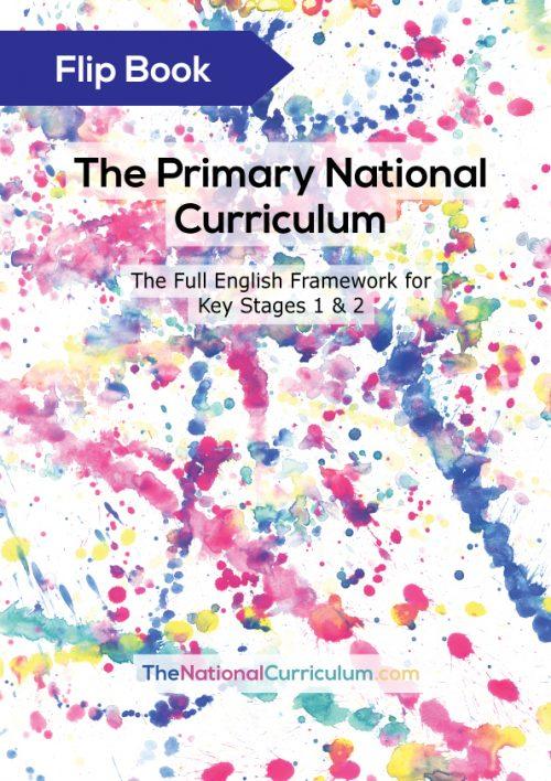 The Primary Curriculum Flip Book