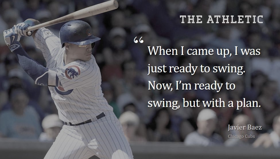 Javy Baez Is Hitting Fielding And Loving Life