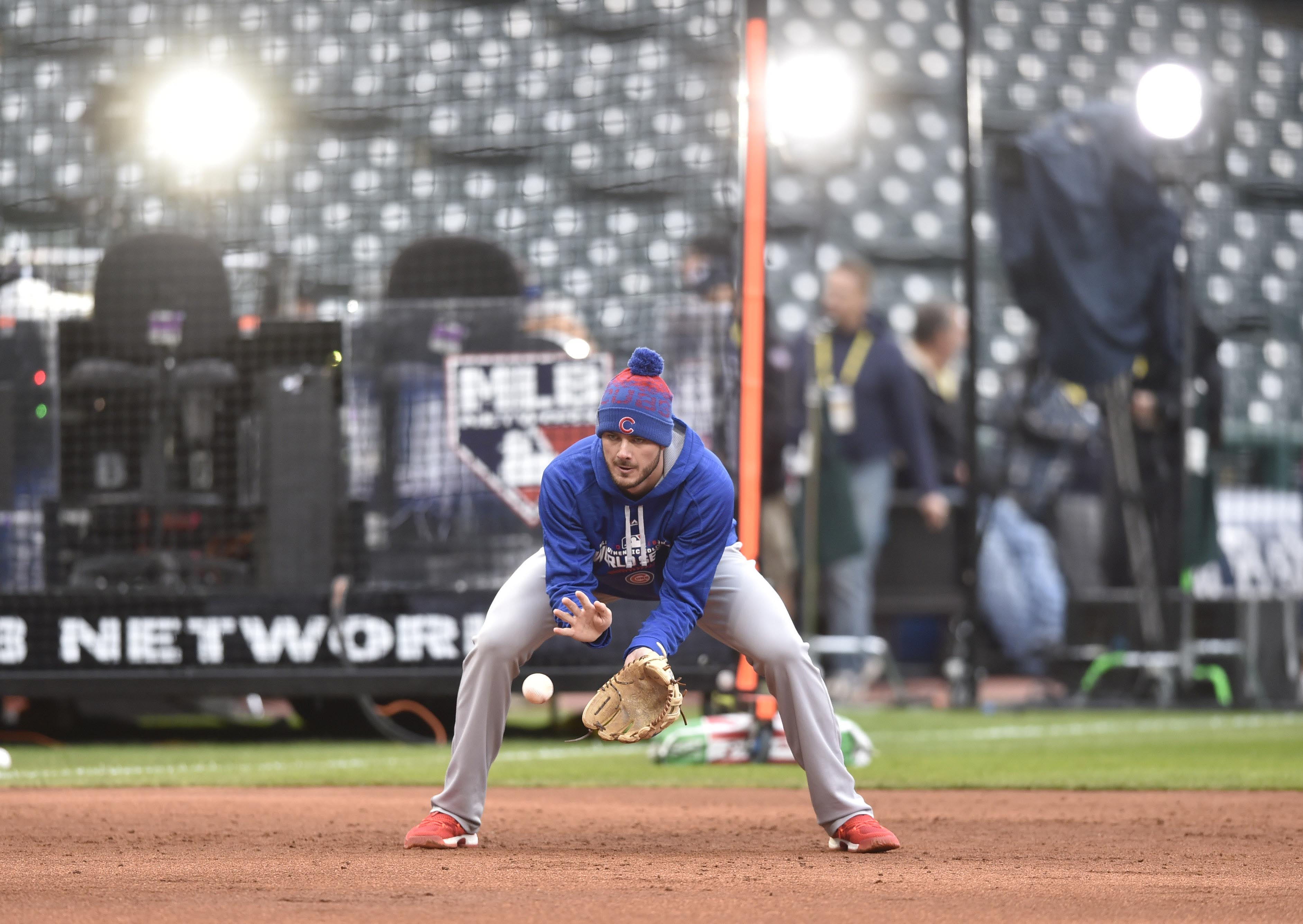 Most of the Cubs are young, but they're no stranger to the bright lights of the playoffs. But the World Series is a whole new ballgame. (David Richard/USA TODAY Sports)