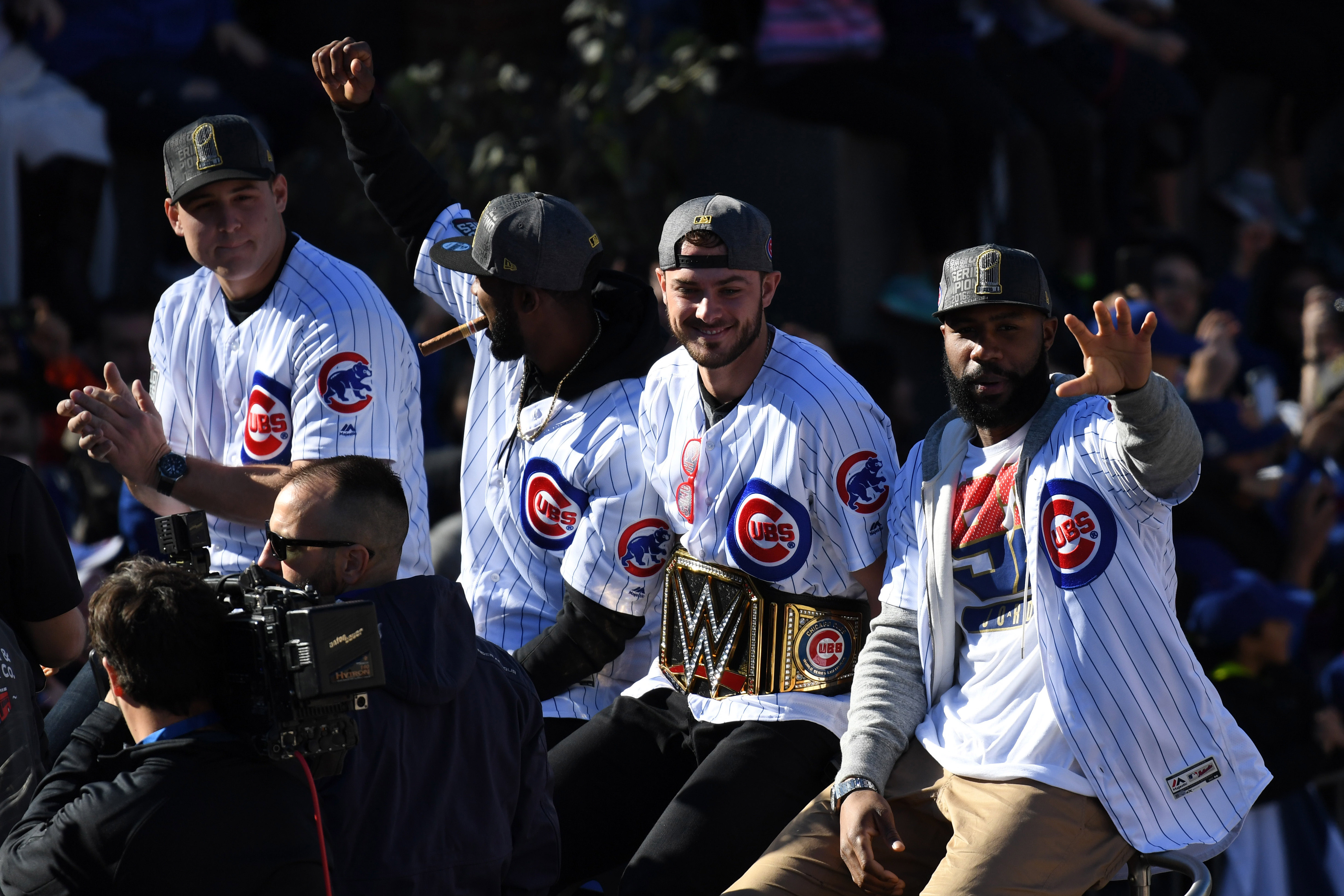 After just two seasons in Chicago, Kris Bryant has become one of the most beloved players on the team. (Patrick Gorski/USA TODAY Sports)