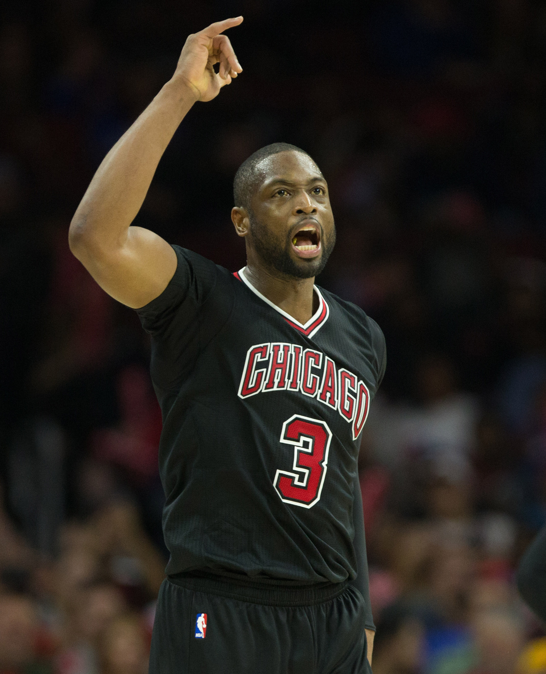 Dwyane Wade is not happy with the NBA's two-minute reports. (Bill Streicher/USA TODAY Sports)