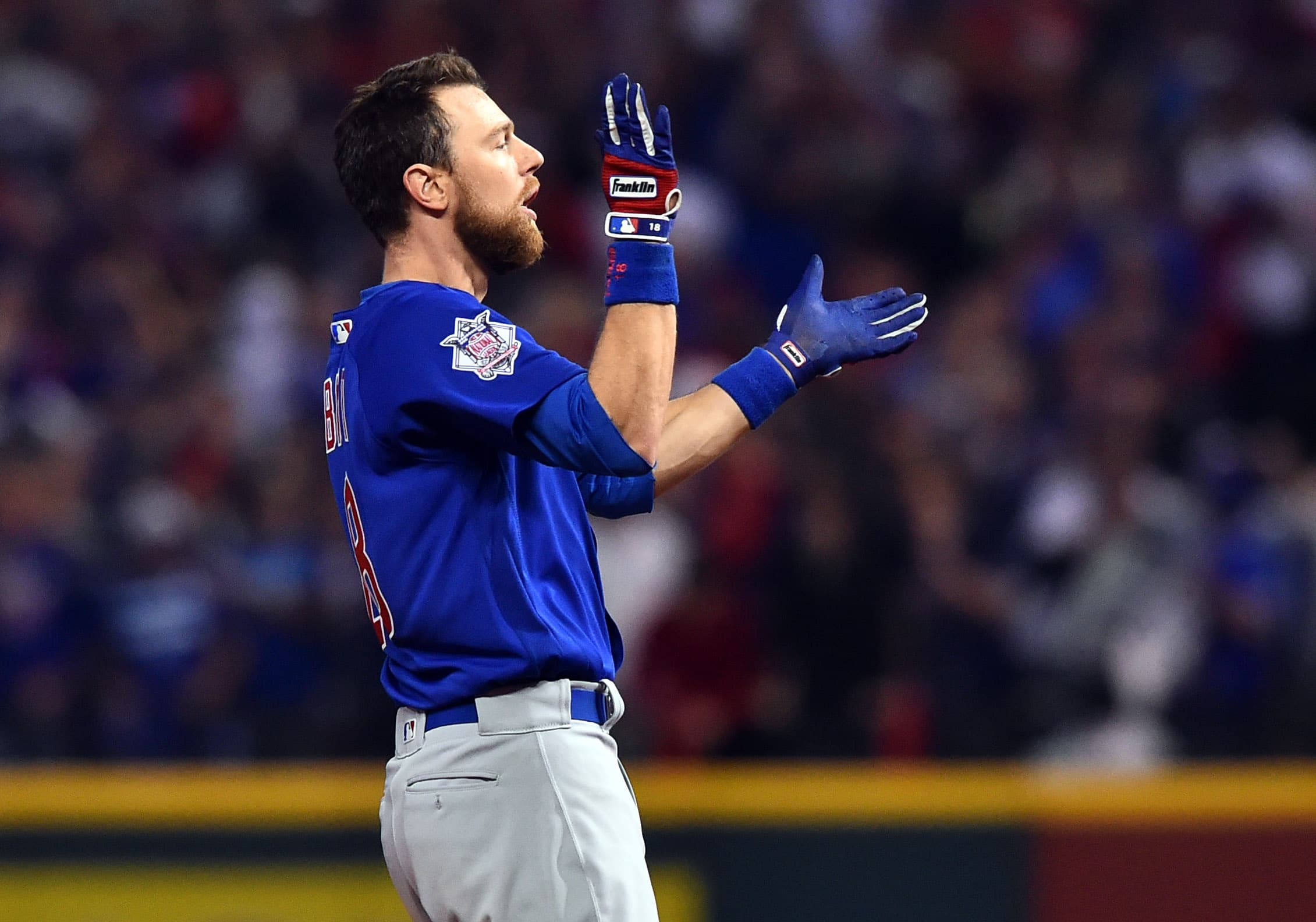 World Series MVP Ben Zobrist spent some time in the leadoff spot last season while Dexter Fowler was injured. (Ken Blaze/USA TODAY Sports)