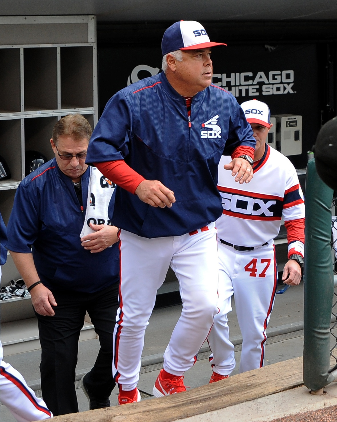 White Sox coach Rick Renteria will likely keep things low-key and delicious this spring training. (Patrick Gorski/USA TODAY Sports)