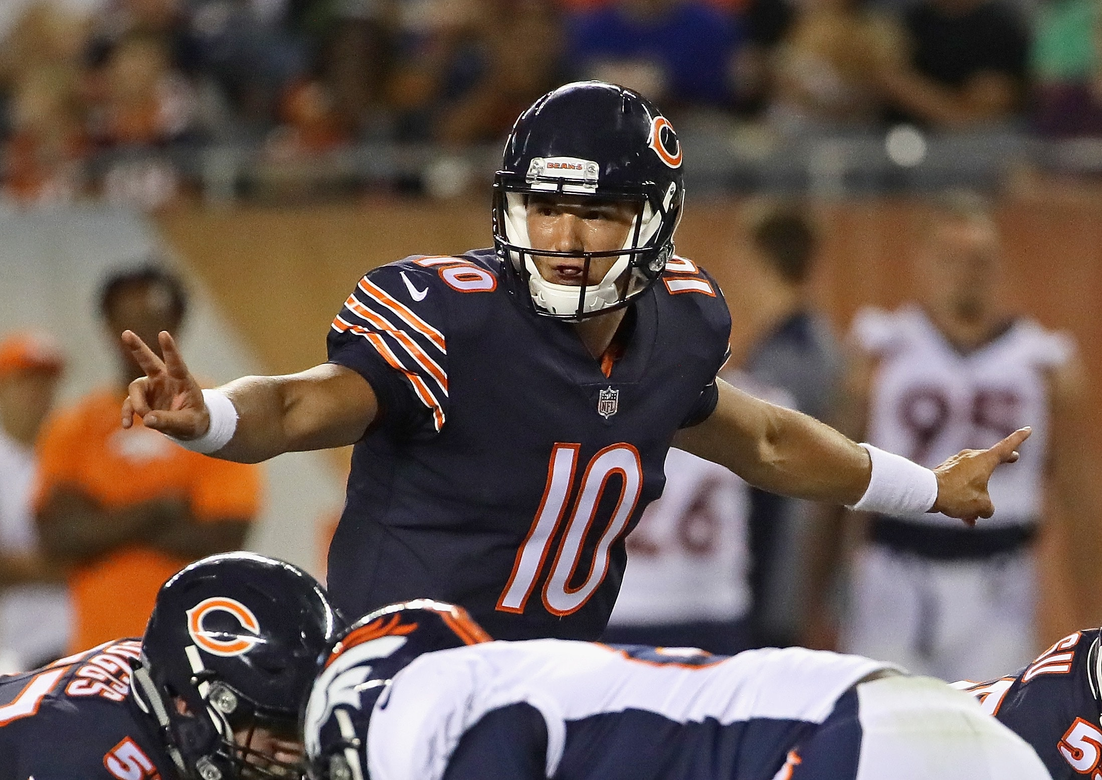 Bears rookie QB Mitch Trubisky impresses in National Football League preseason debut