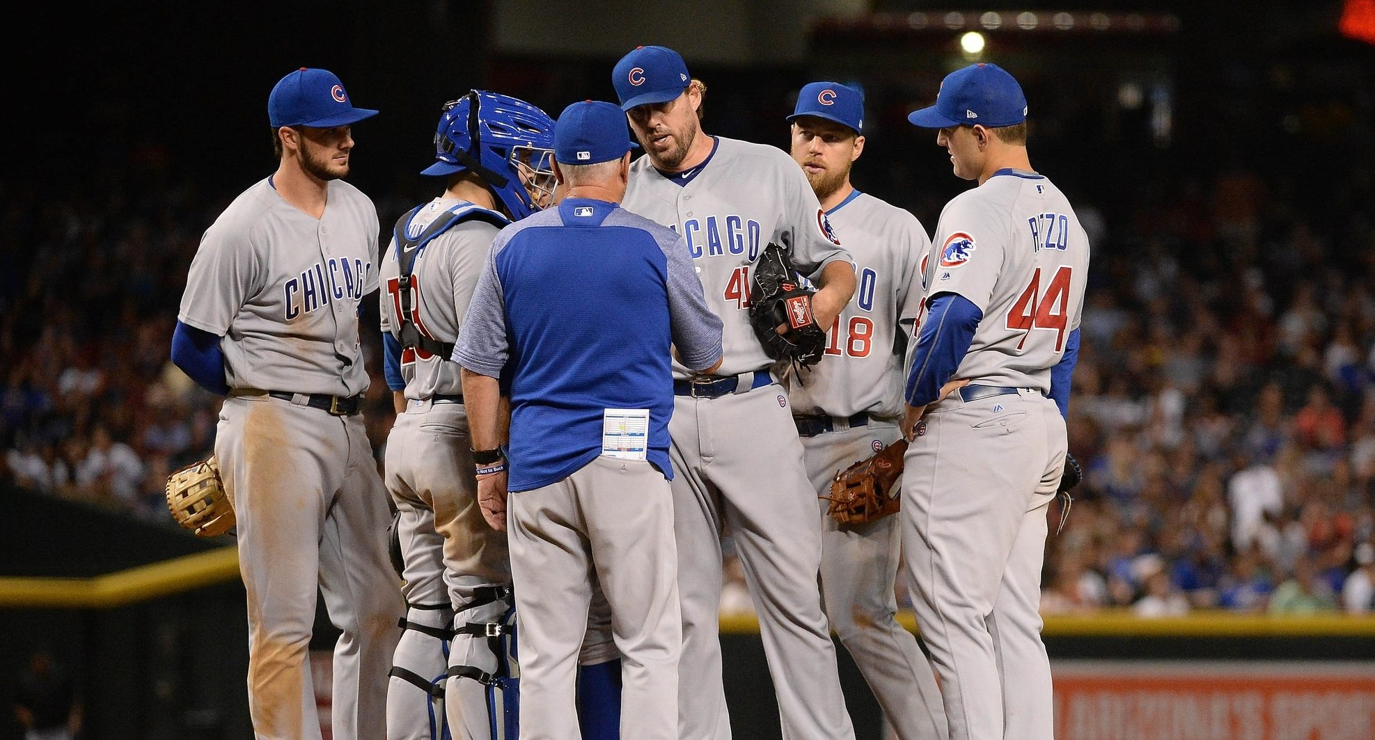 John Lackey keeping his Cubs friends in first place