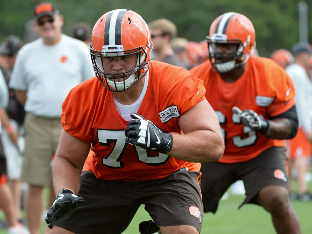 Big contract just another weight Browns guard Kevin Zeitler is
