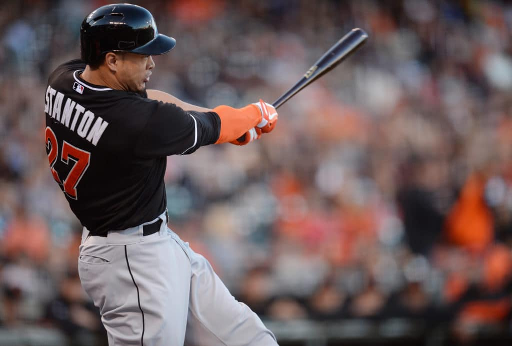 Marlins Agree to Giancarlo Stanton Trade Framework With Cardinals, Giants