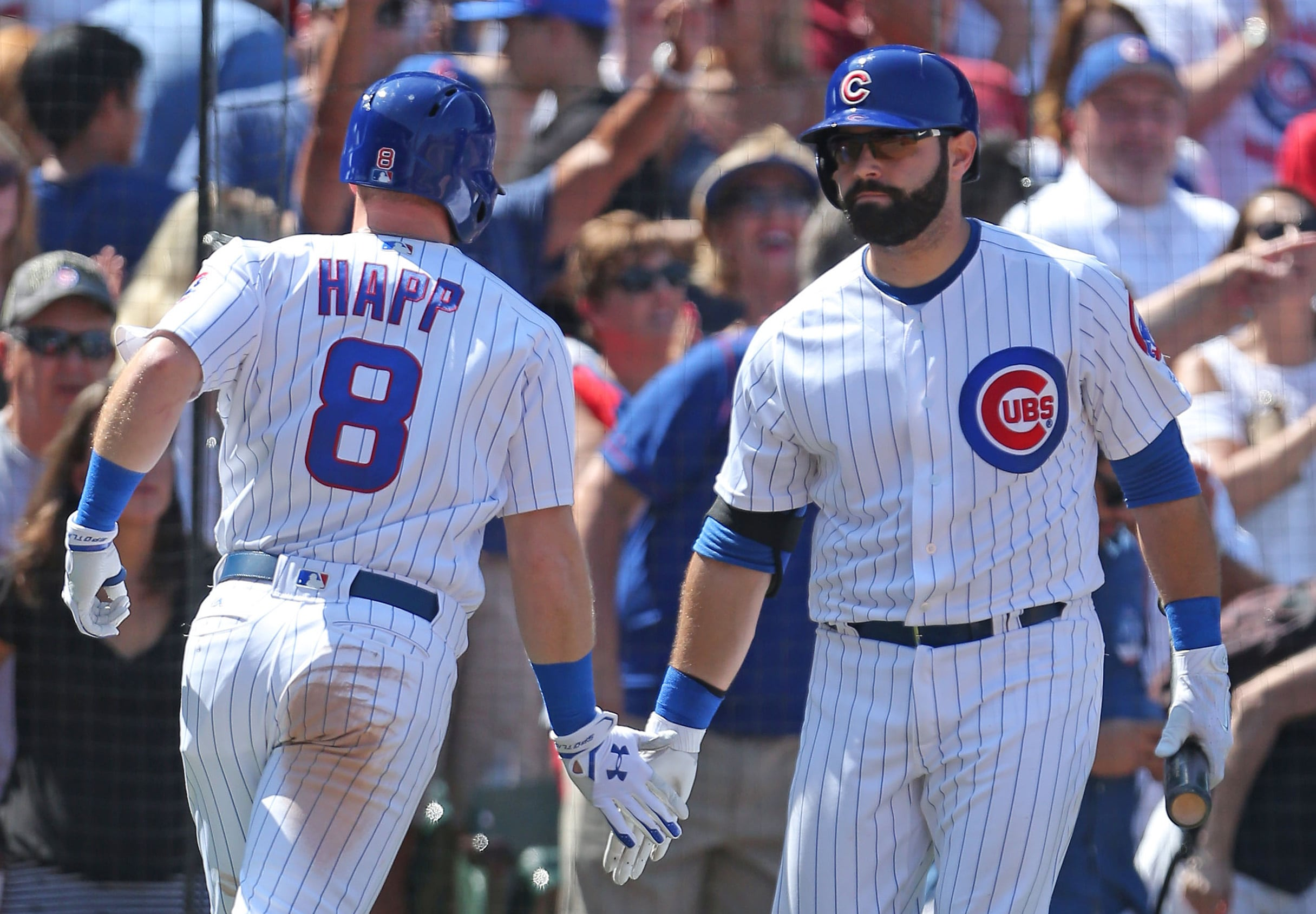 Major League Baseball scores: Cubs defeat Blue Jays 4-3 at Wrigley
