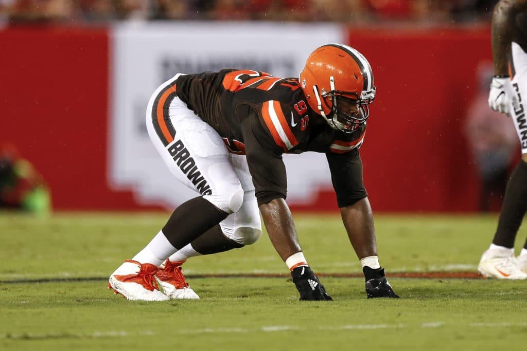 Browns bracing as top pick Garrett injures ankle in practice
