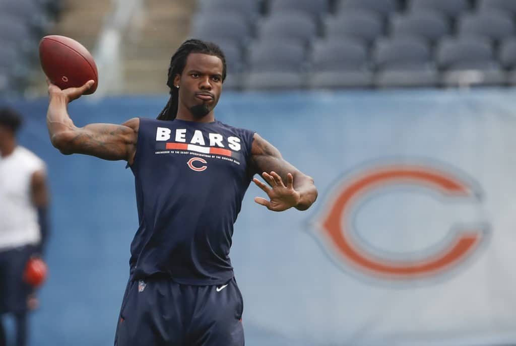 Bears' Kevin White out several weeks with broken shoulder blade