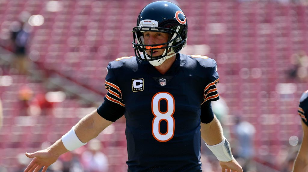 Bears sticking with Glennon vs. Steelers