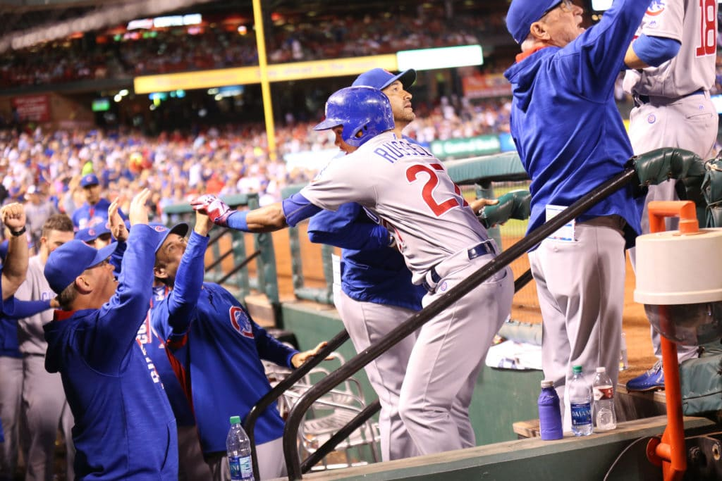 Cubs beat Cardinals to clinch NL Central title