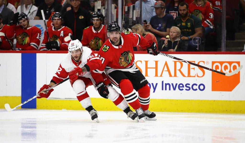 Blackhawks moves: Alex DeBrincat likely in, Vinnie Hinostroza to Rockford