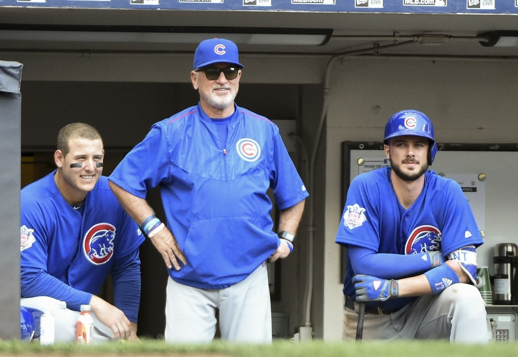 Cubs make big lineup changes, Nats make none for NLDS Game 2