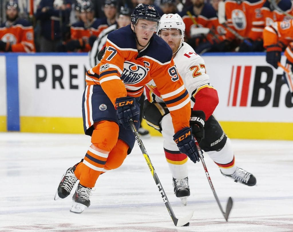 Connor McDavid's hat trick powers Edmonton Oilers past Calgary Flames 3-0