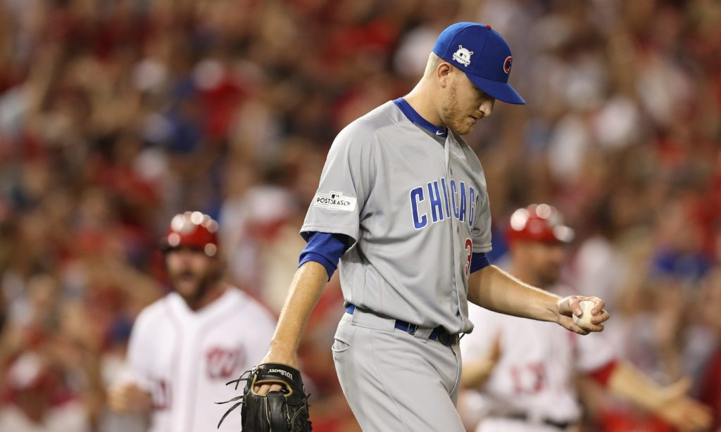 Cubs rally past Scherzer, Nationals 2-1, lead NLDS 2-1