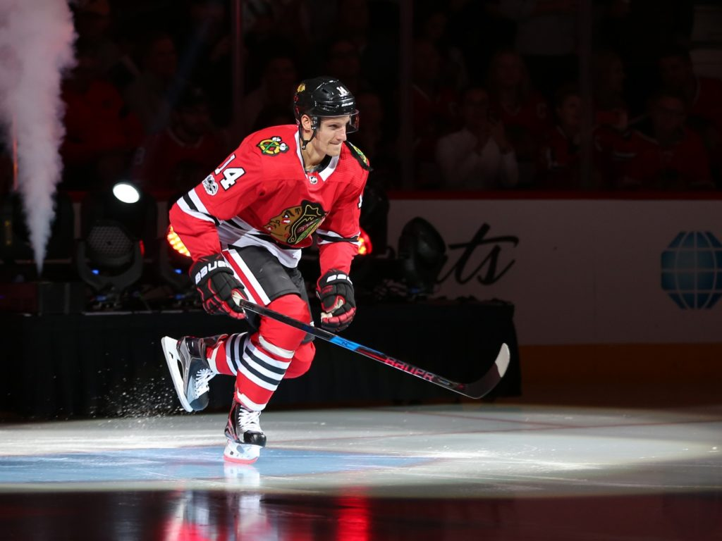 Blackhawks&#39 Richard Panik keeps on producing moving