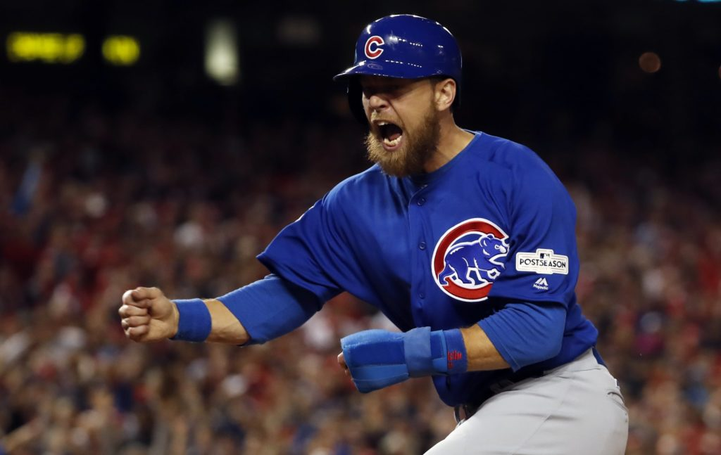 'I couldn't look Stephen Strasburg in the eye': Cubs playoff hero