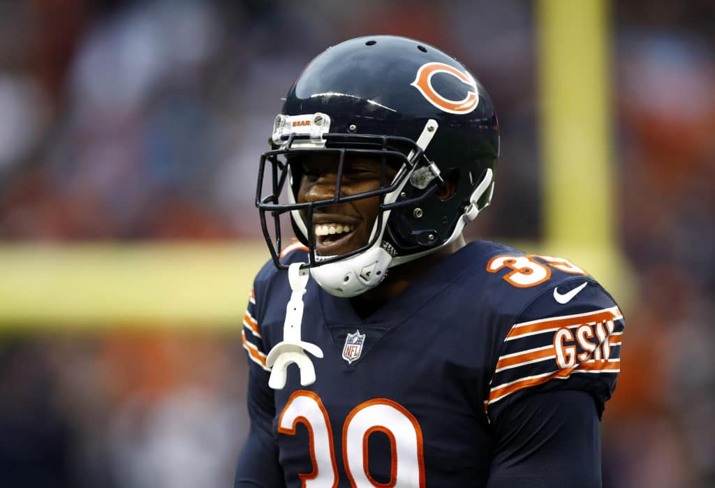 Eddie Jackson sets record on one-year anniversary of broken leg