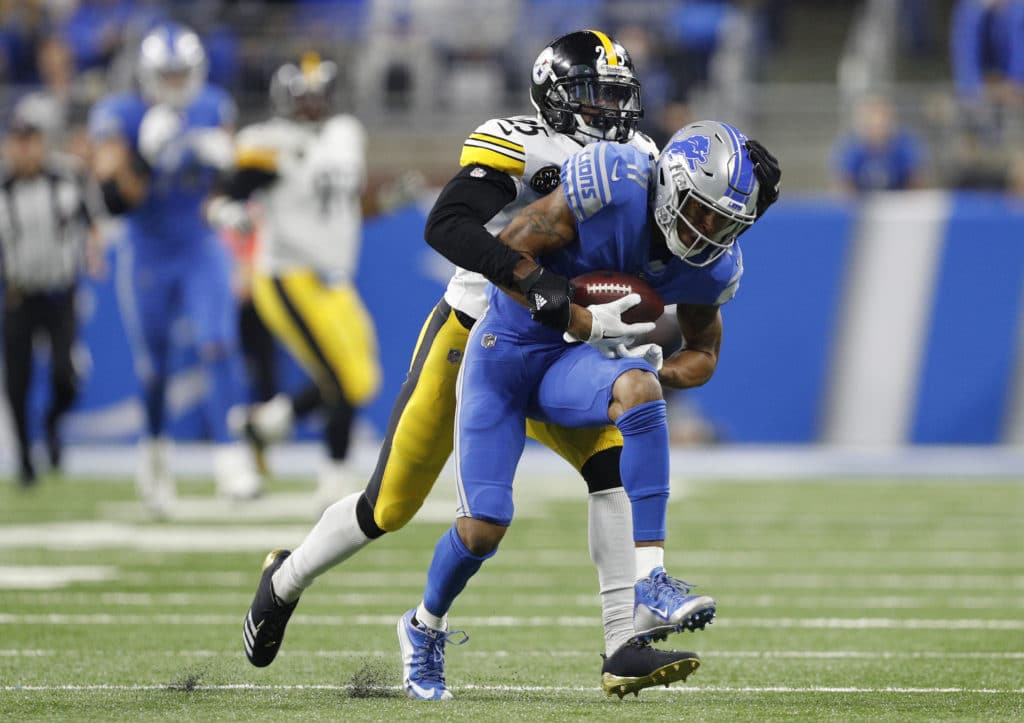 Golden Tate racks up 113 yards in Detroit's win over Green Bay