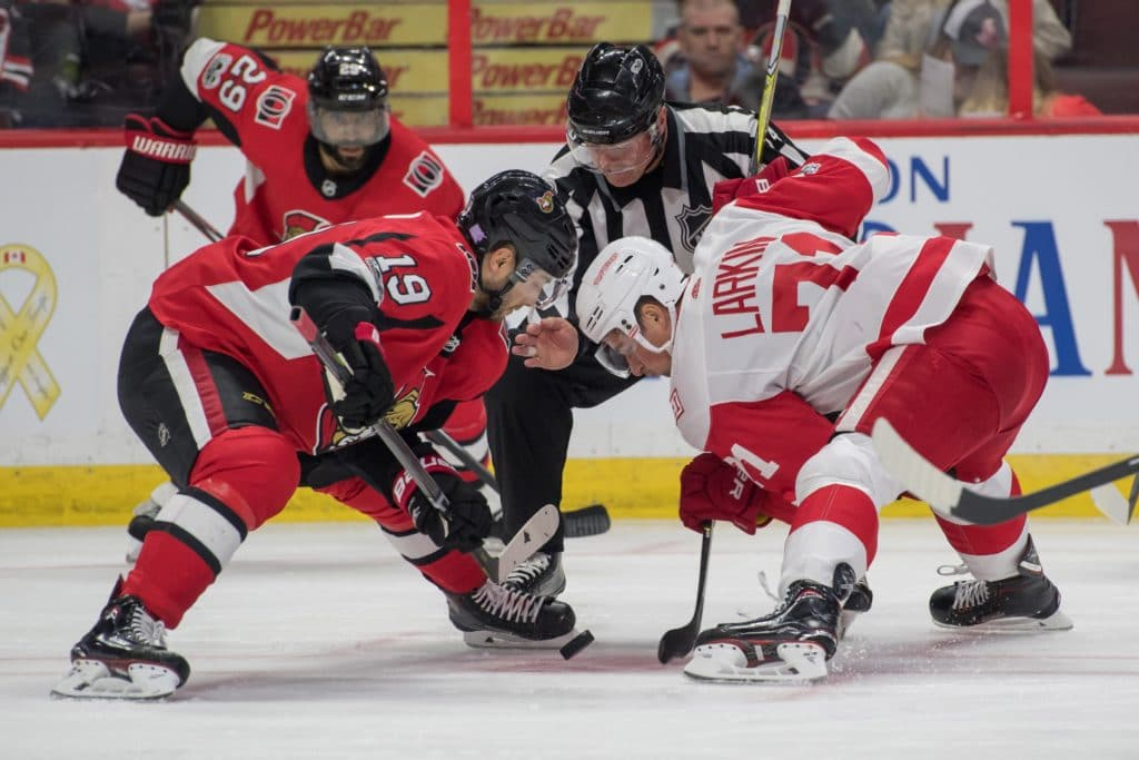 Mark Stone with goal and assist, Senators beat Red Wings 3-1