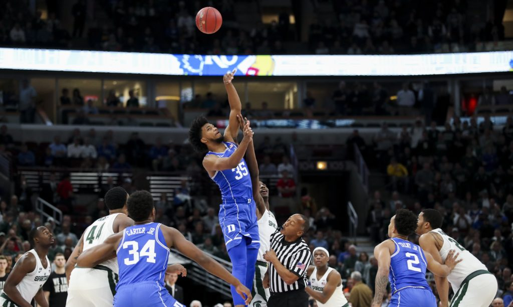 Marvin Bagley III Won't Return vs. Michigan State After Suffering Eye Injury