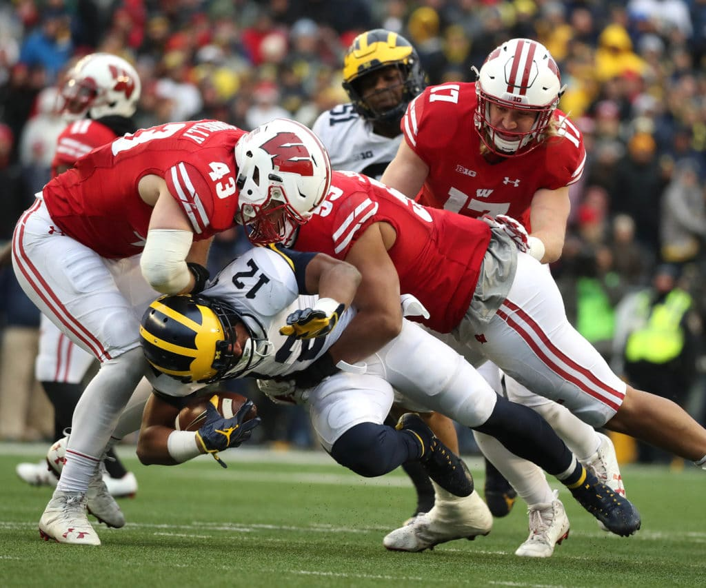 Alex Hornibrook, Wisconsin silence critics in 24-10 win over MI