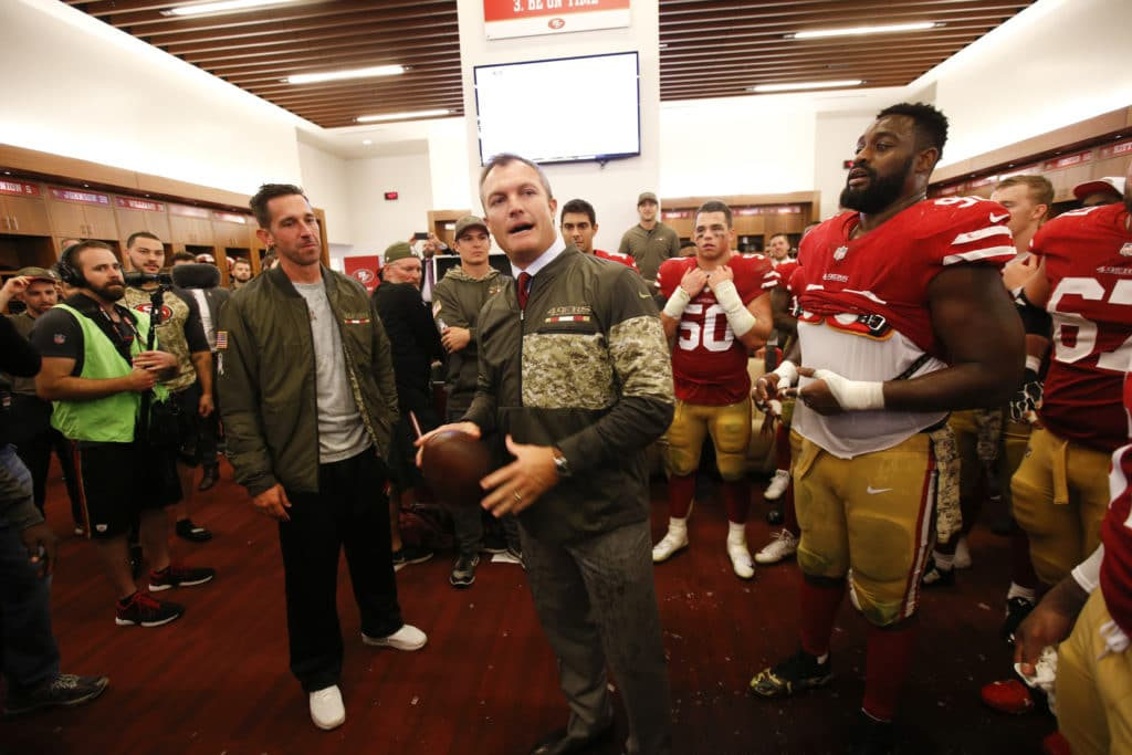 49ers notes: Shanahan forgoes gamesmanship - Beathard will start