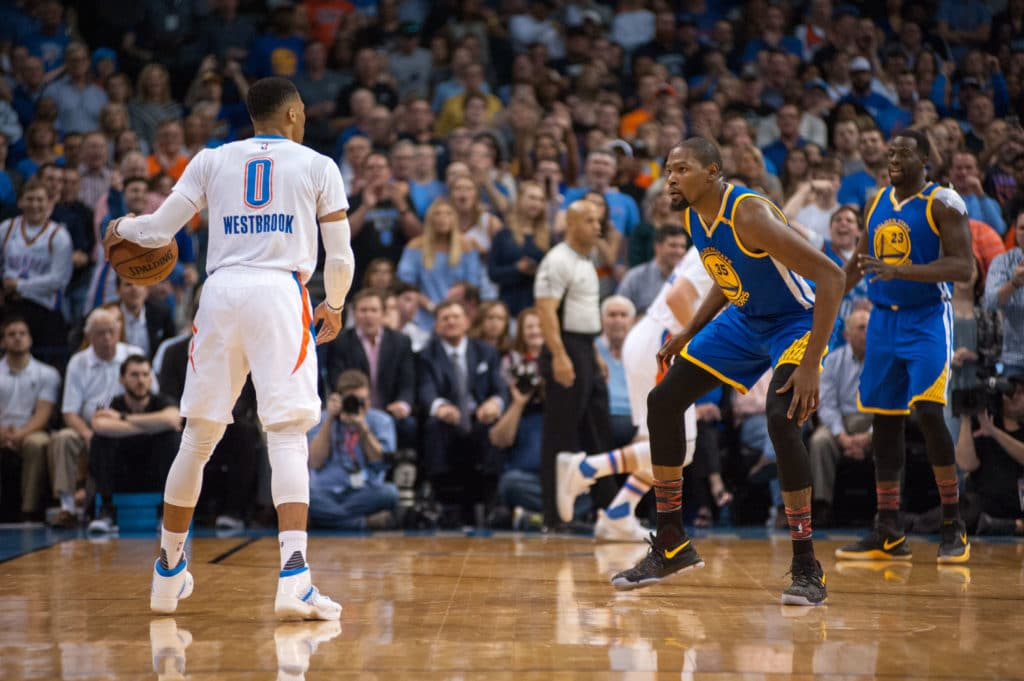 Kevin Durant, Russell Westbrook Comment on Tension During Warriors vs. Thunder
