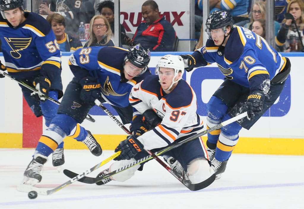 Best of NHL: Vladimir Tarasenko records 4 points as Blues rip Oilers
