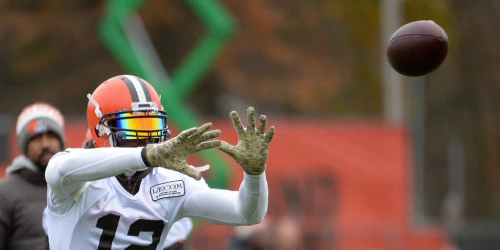Browns WR Josh Gordon practices for the first time since reinstatement