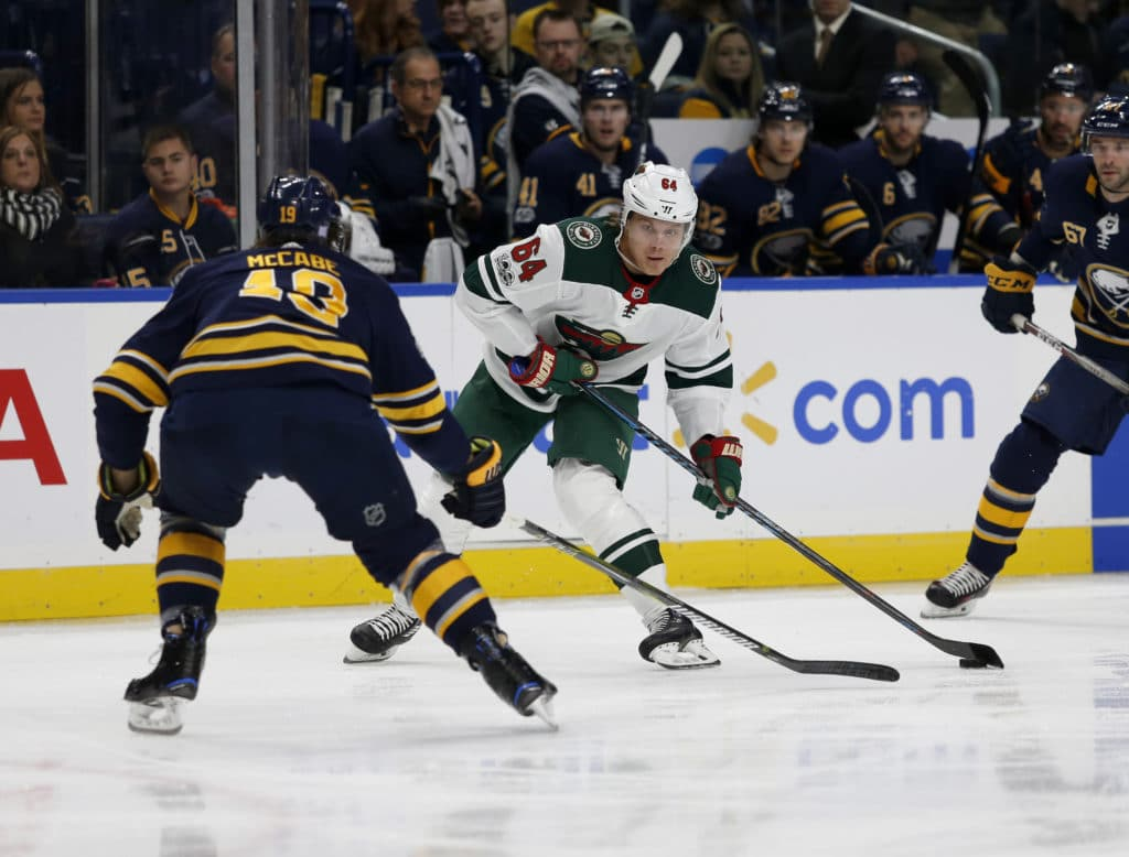 Poor Start Leads to Sabres Dropping Seventh Straight to Wild