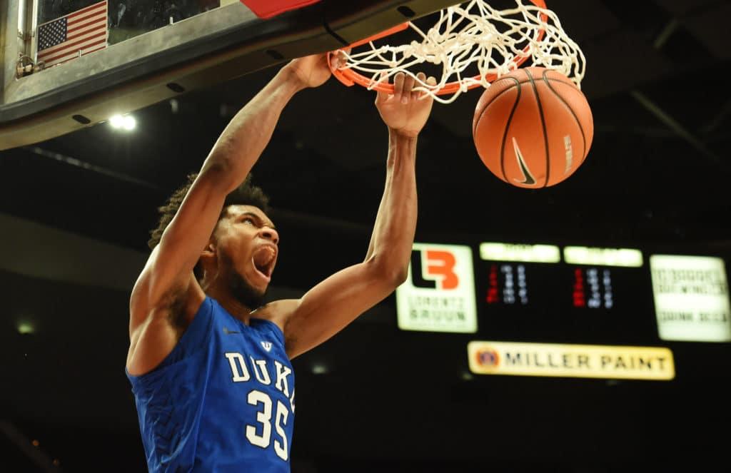 Duval, Bagley Lead No. 1 Duke To Win Over Portland State
