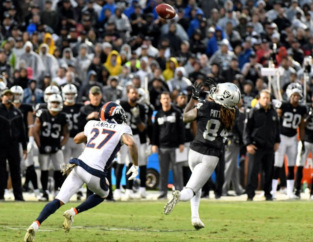 Raiders' Crabtree, Broncos' Talib hit with two-game bans