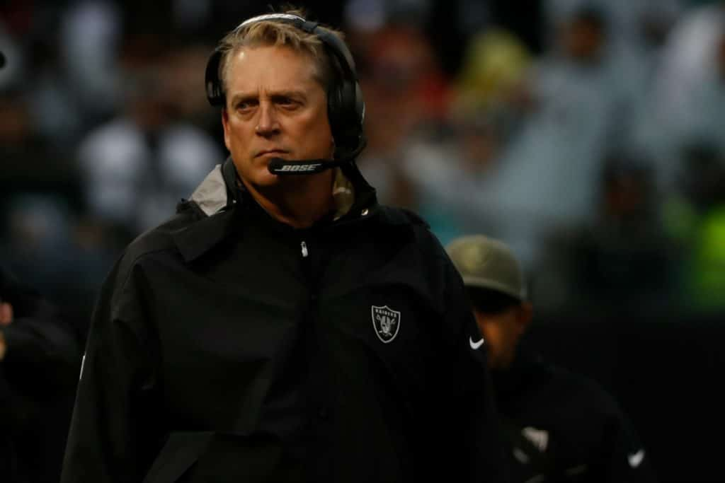 Kawakami Jack Del Rio and the Raiders backed themselves into this corner let's see if they can fight their way out