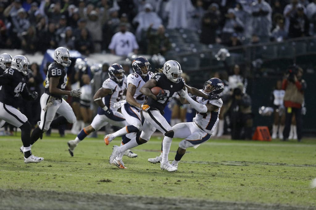 Raiders' Cooper suffered concussion, ankle injury